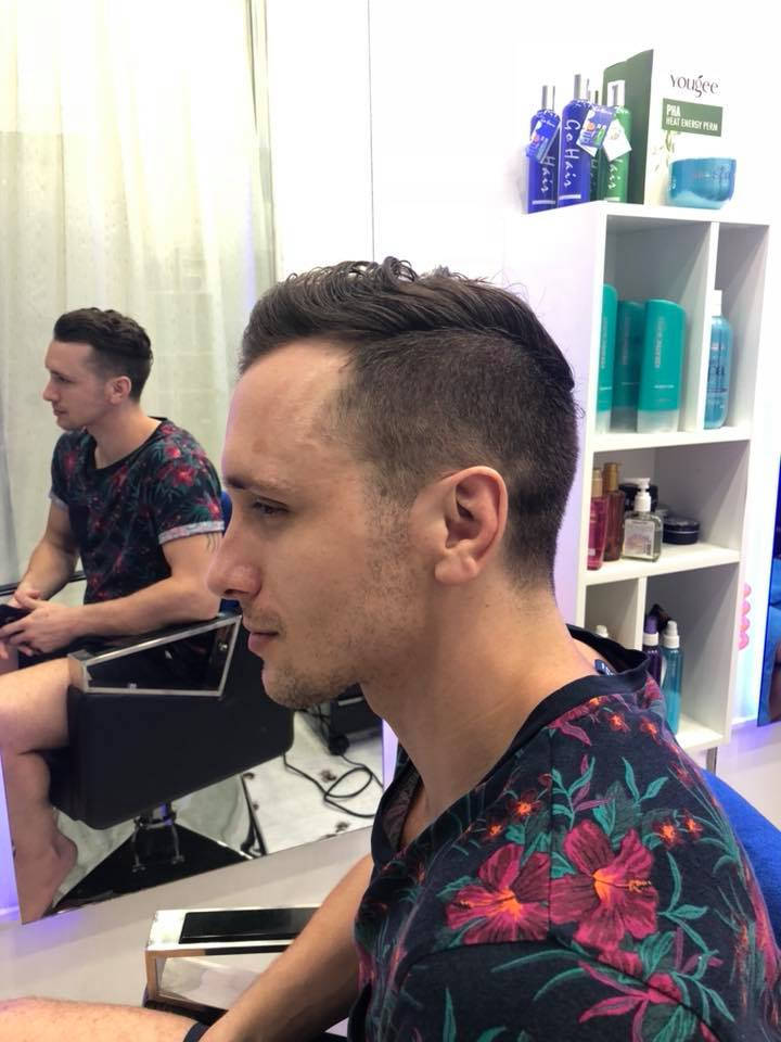 Haircut For Men Golden Touch Massage Beauty Salon
