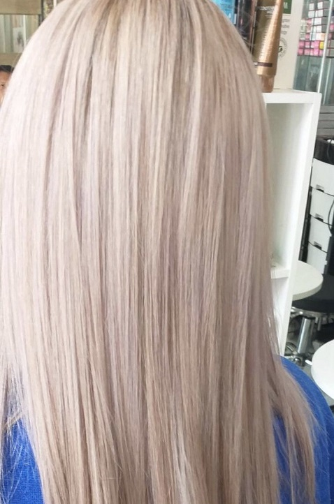 BLOND HAIR COLOR IN PATONG BEACH - Golden Touch Massage & Beauty Salon